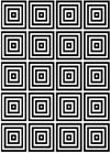 Squares Background Unmounted Rubber Stamp