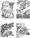 Fairies Vol 1 Unmounted Rubber Stamp Sheet