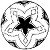 Pima Southwest Indian Design Little Stamper
