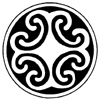 Celtic Spirals Little Stamper
